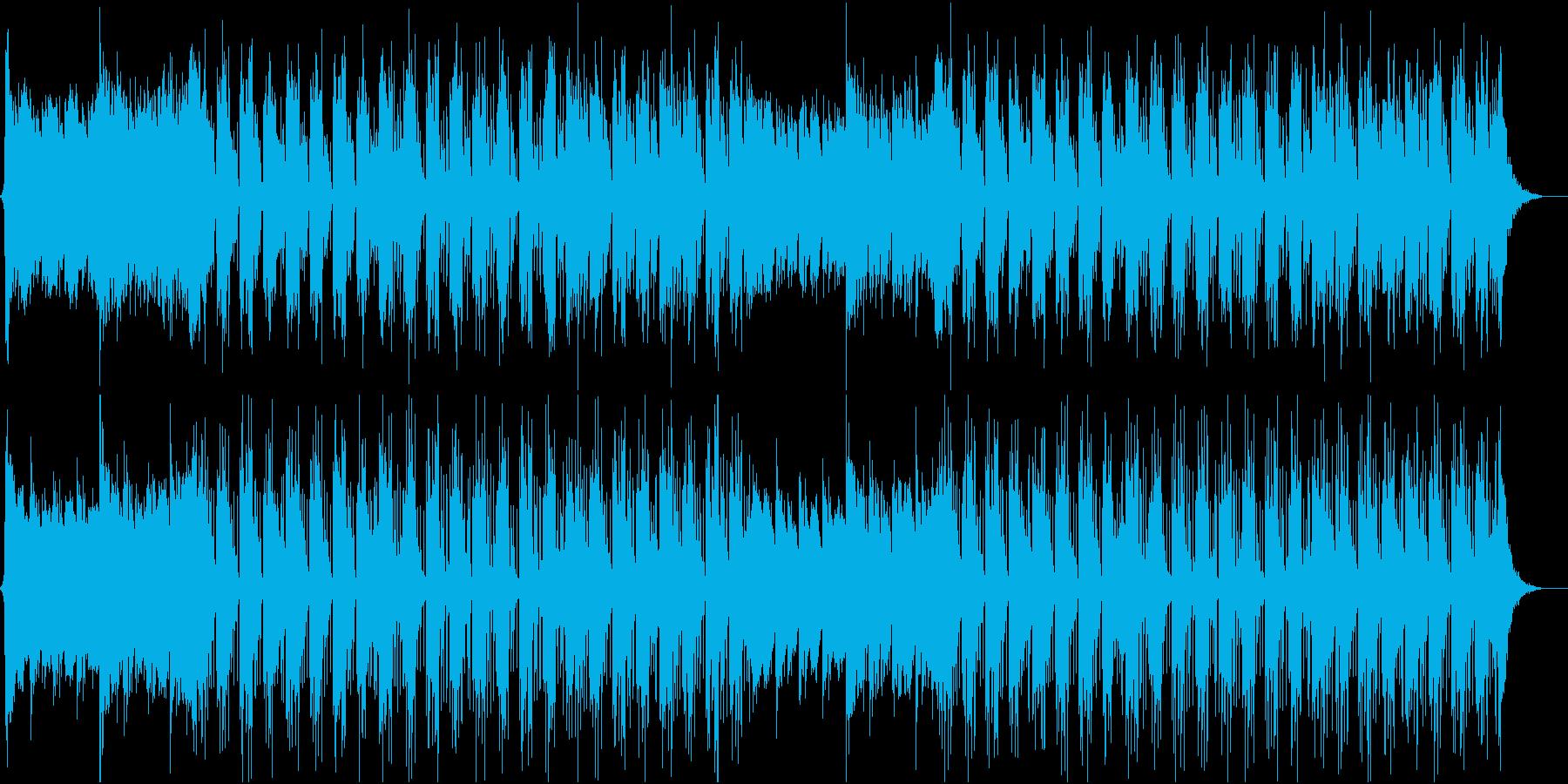 フューチャーベース風切ない曲ですの再生済みの波形