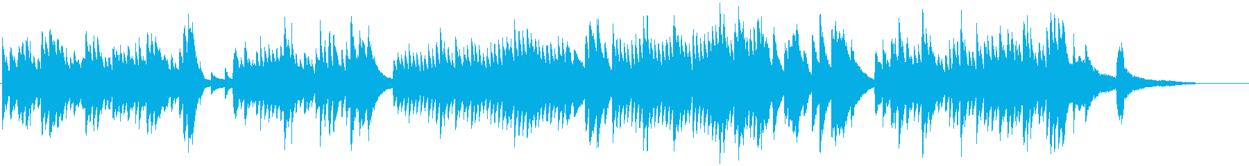 ピアノの旋律が切なくて美しいクラシックの再生済みの波形