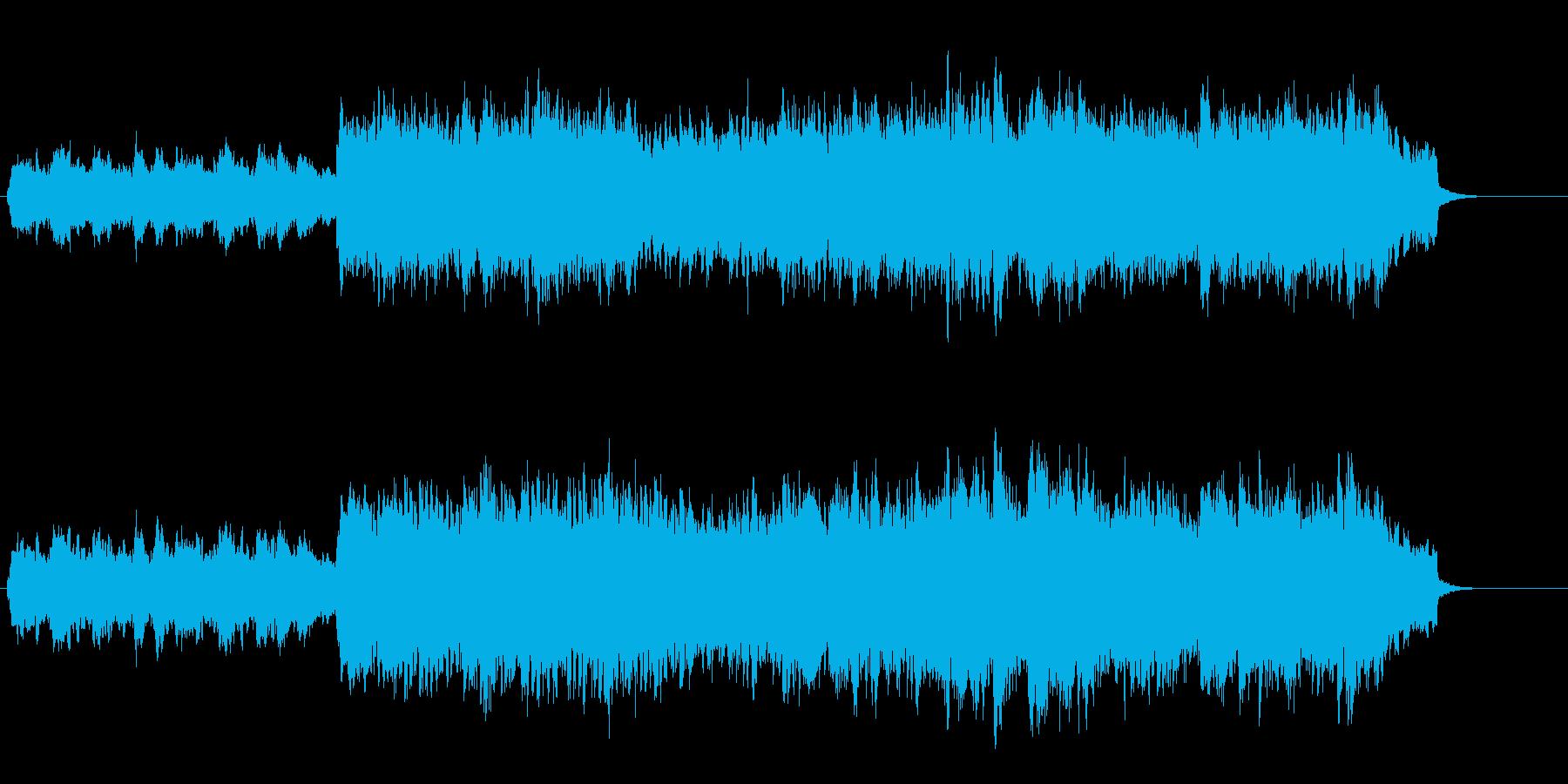 華やかさを押さえたセミ・クラシック風の再生済みの波形