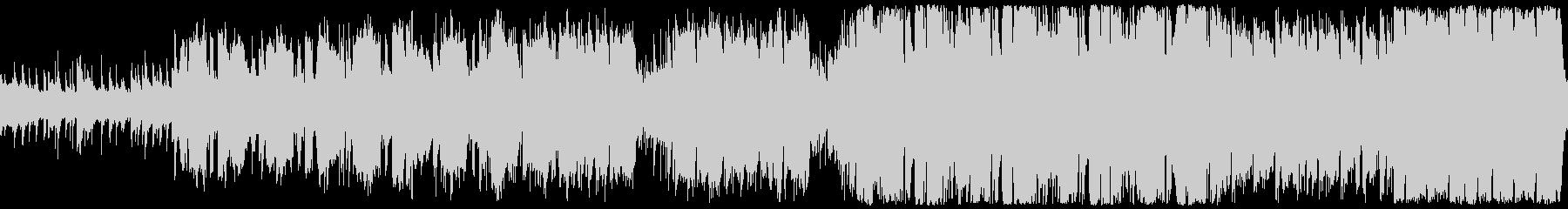 爽やかなほのぼのケルトBGMの未再生の波形