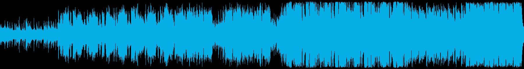 爽やかなほのぼのケルトBGMの再生済みの波形
