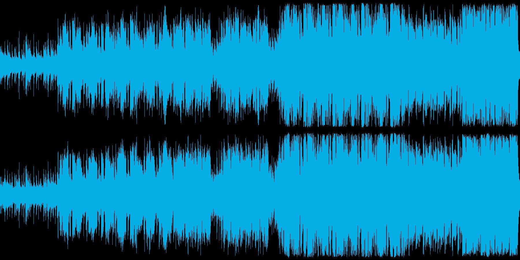 爽やかなほのぼのケルト風BGMの再生済みの波形