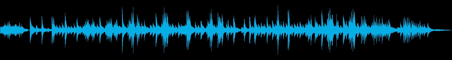グノーのアベマリアをピアノジャズアレンジの再生済みの波形