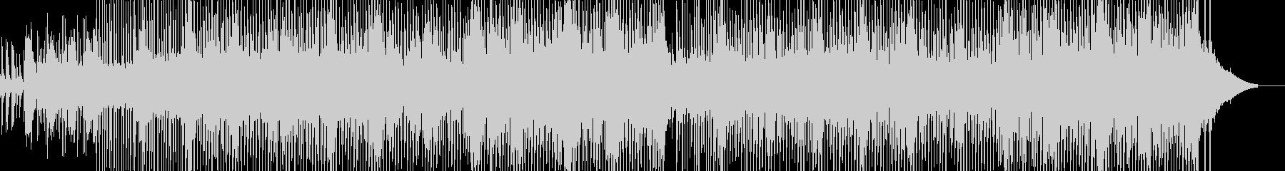 カラフルでメルヘンなアワ風呂イメージの未再生の波形