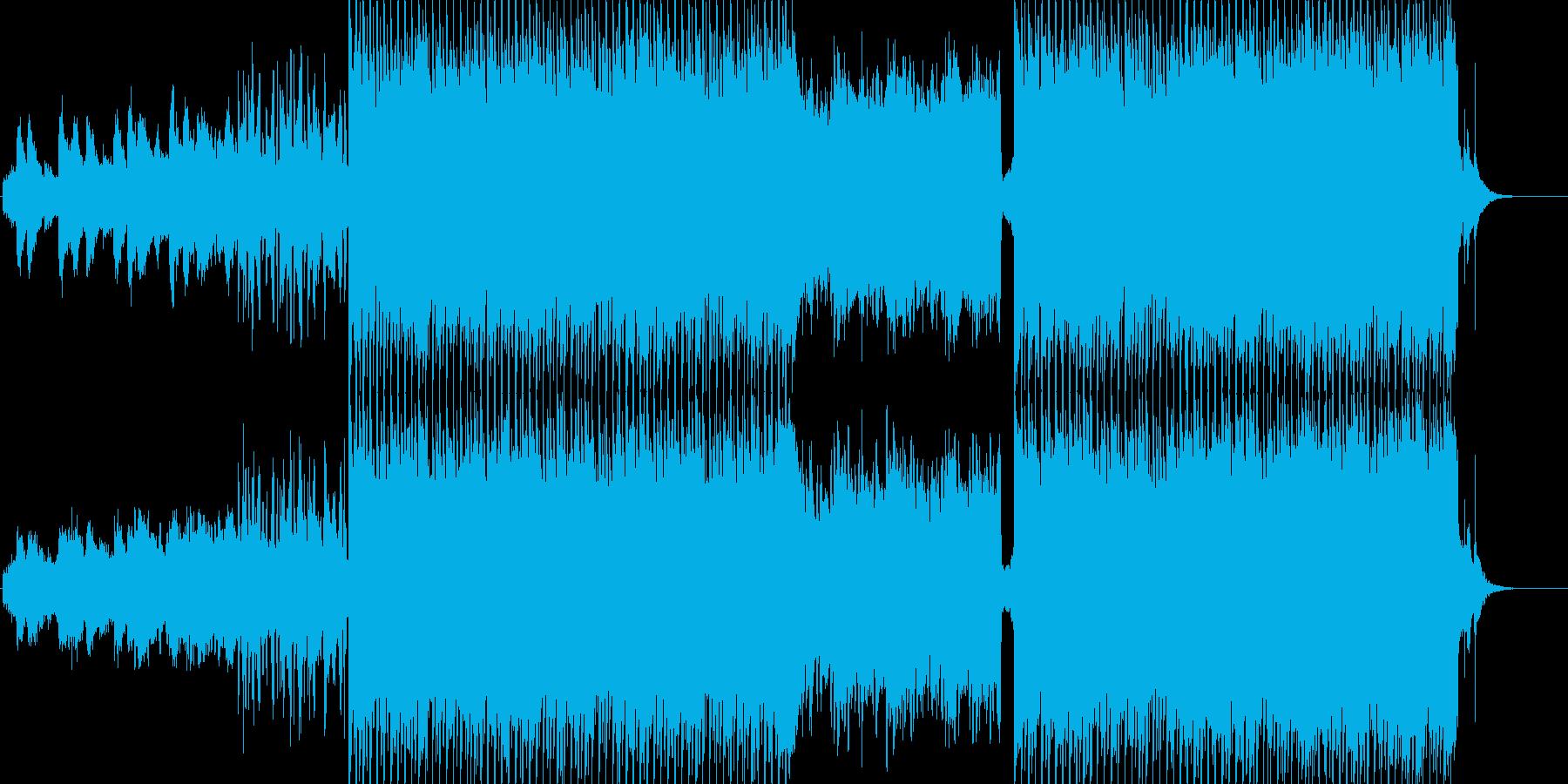 ライトなエレクトロポップの再生済みの波形