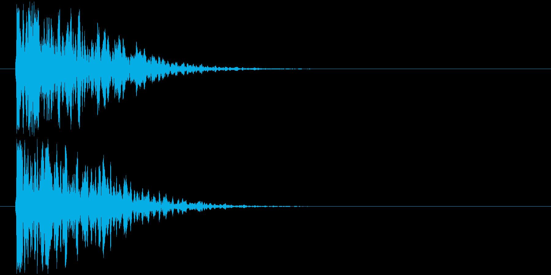 サスペンス_閃きの再生済みの波形