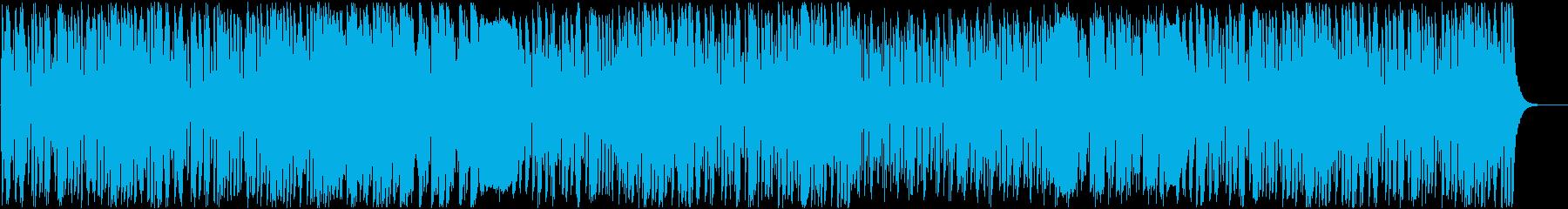 ほのぼのとぼけた子供小動物向けBGMの再生済みの波形