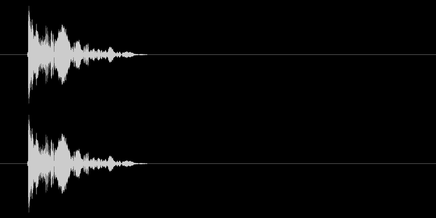 SNES 野球01-01(金属バット)の未再生の波形