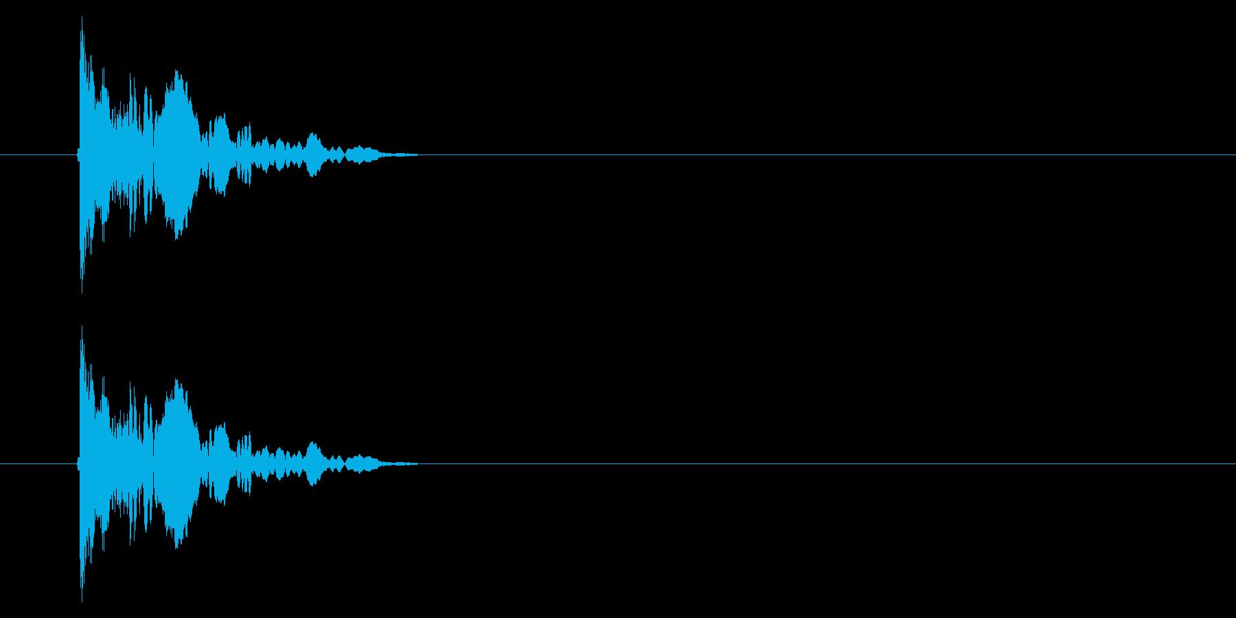 SNES 野球01-01(金属バット)の再生済みの波形