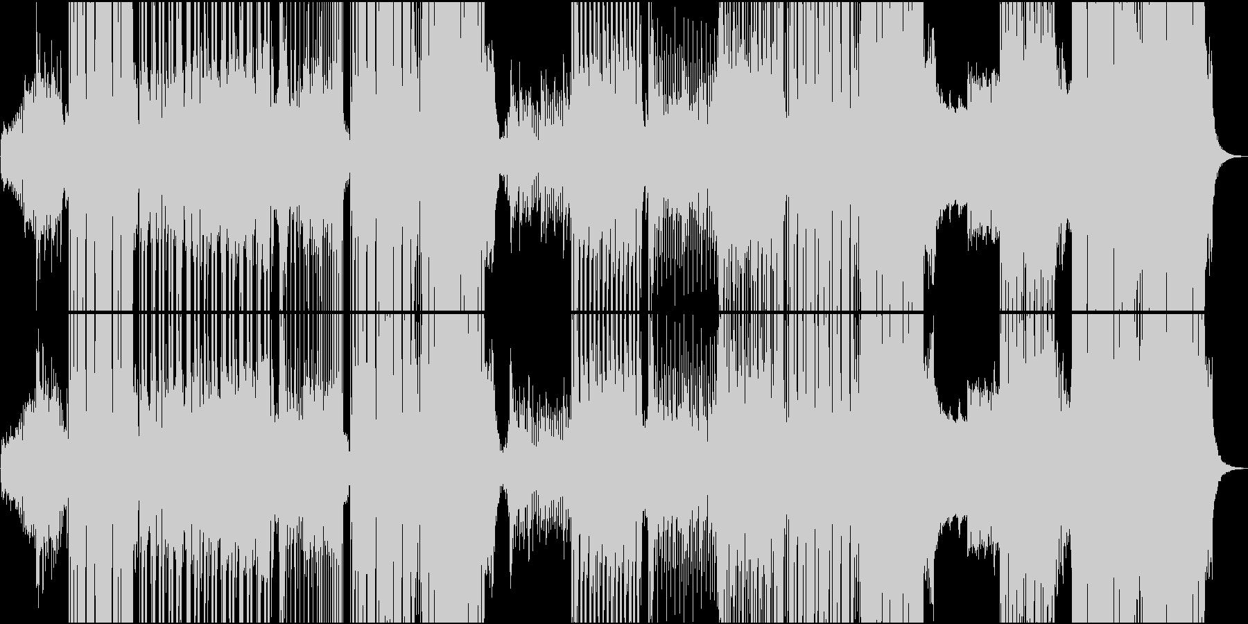 EDM切ないR&B系の和風/メロなしの未再生の波形