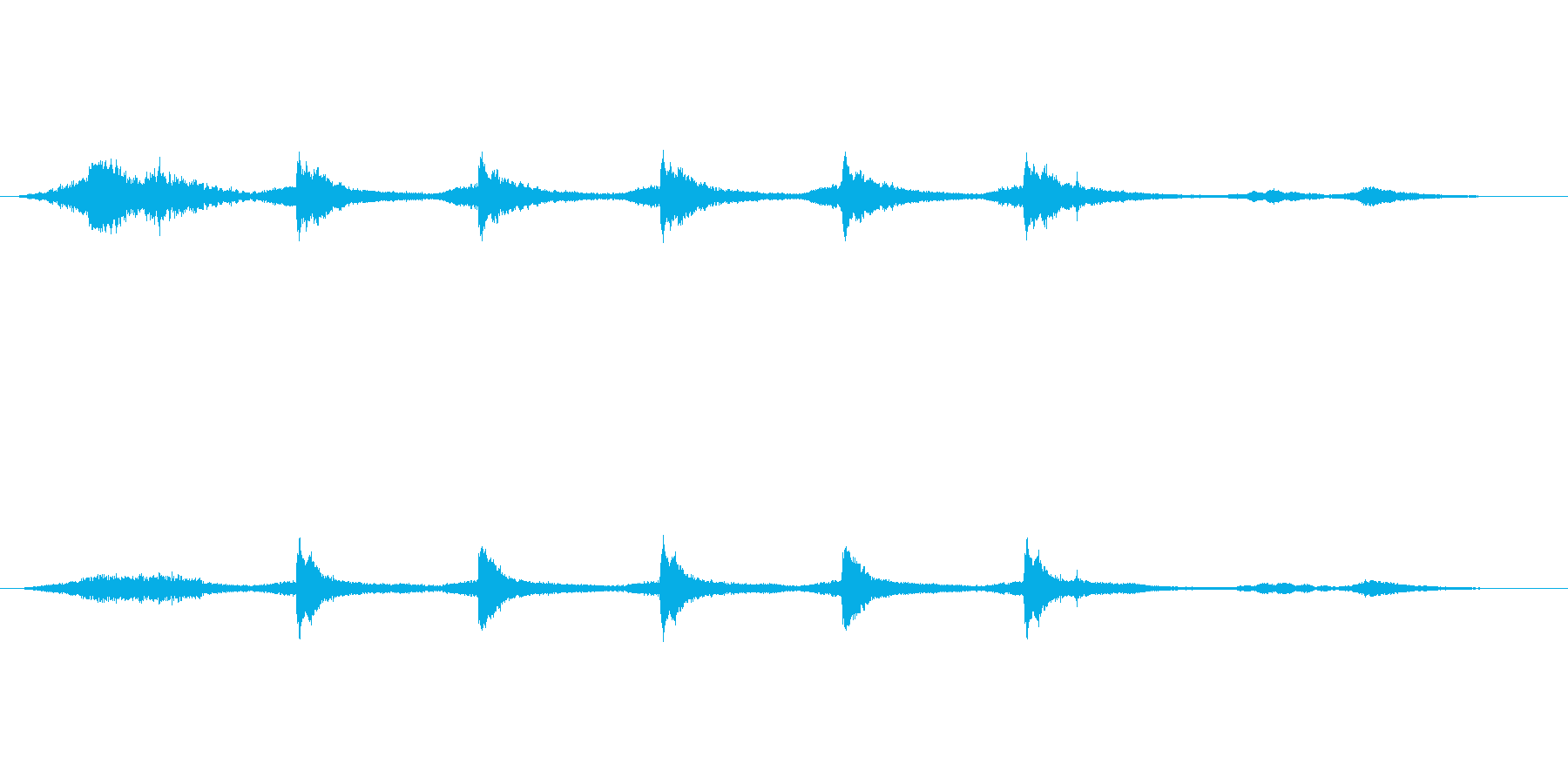 ミステリー、サスペンス向き楽曲。ミステ…の再生済みの波形