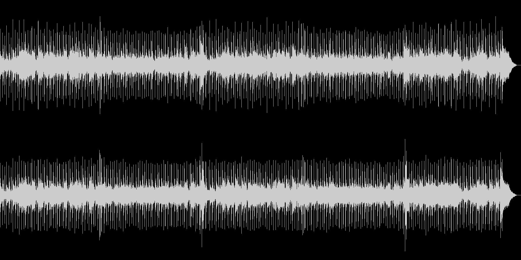 ムーディーな夜を演出するBGMの未再生の波形