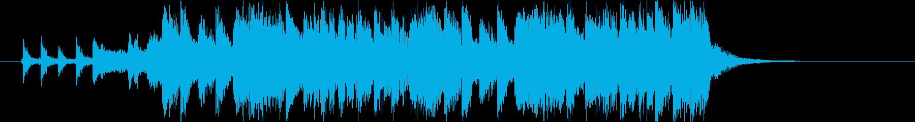 ホラーでかわいいジングル J10の再生済みの波形