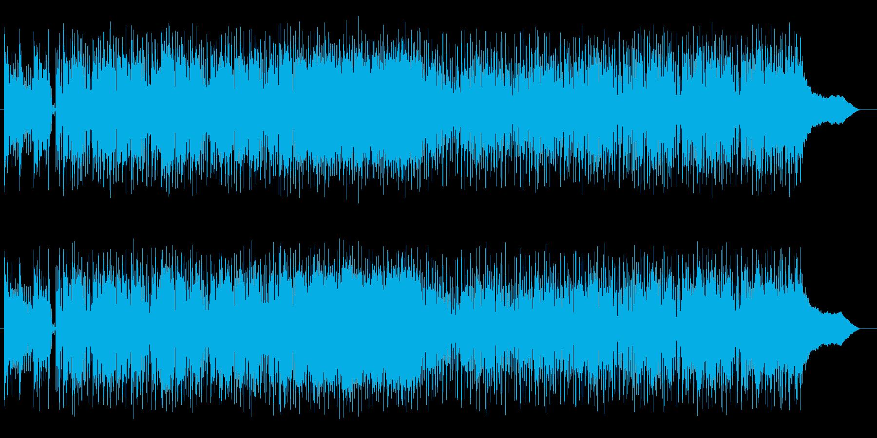 タイトなギターがスタイリッシュなロックの再生済みの波形
