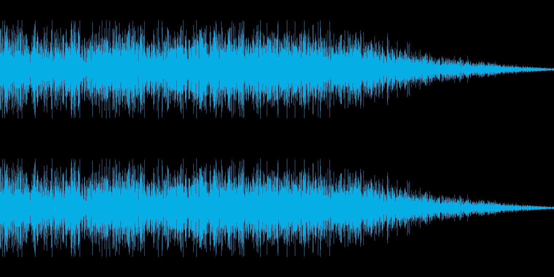 ロボット足音 タイプ14の再生済みの波形