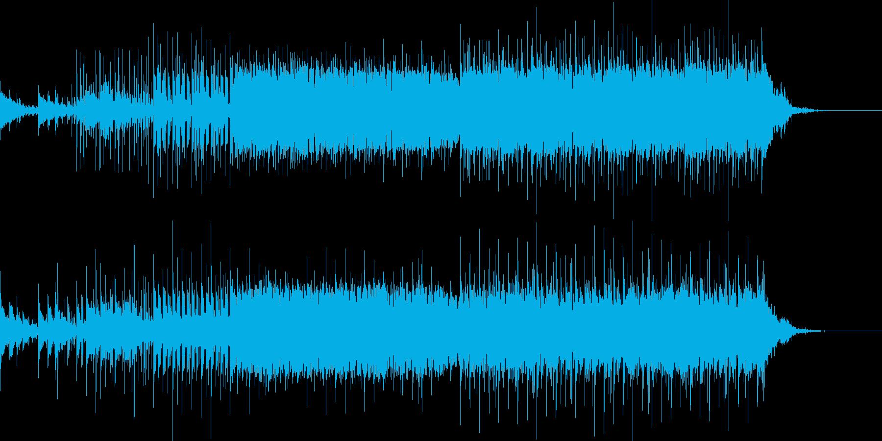 ベル音を基調としたエレクトロニカの再生済みの波形