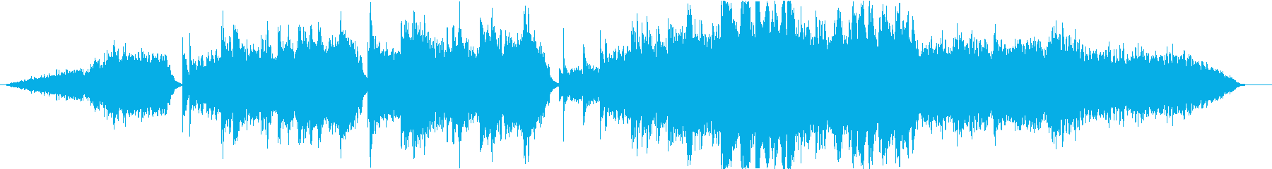感動、回想、優しい場面のBGMの再生済みの波形