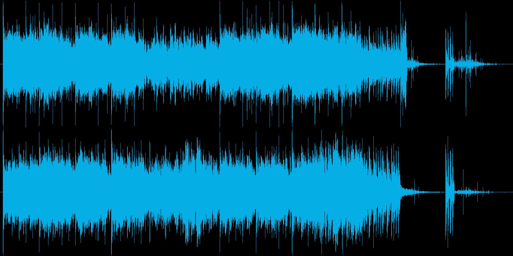 空/飛行機/旅行/CMの再生済みの波形