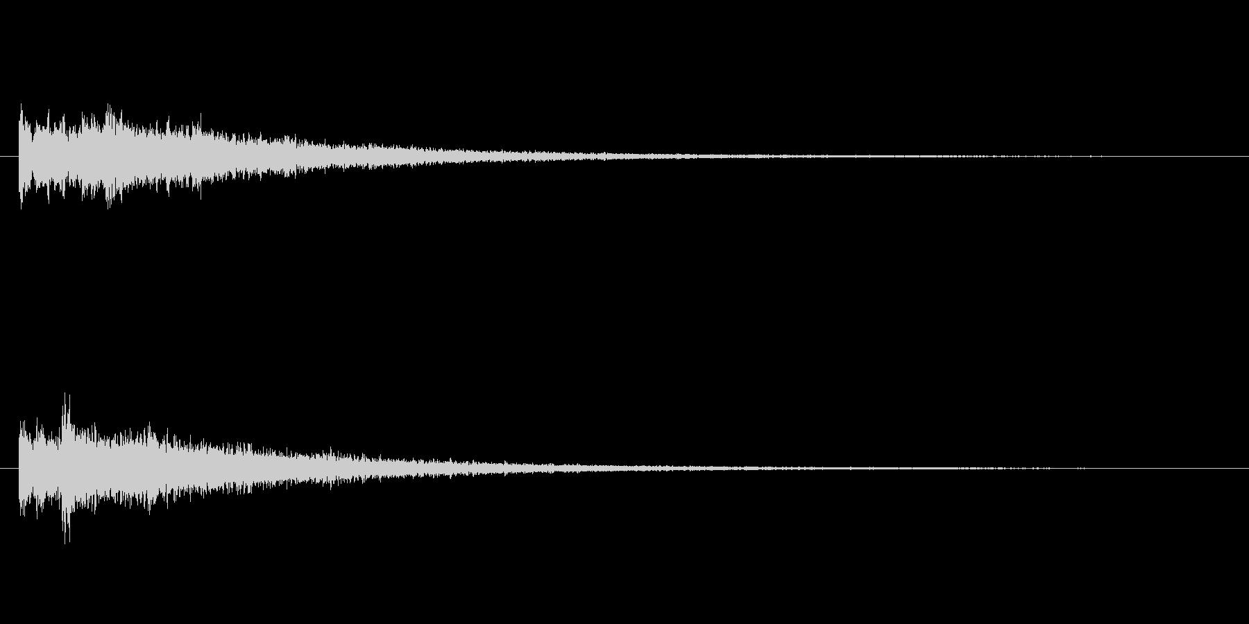 映像などで使える不思議な音の未再生の波形