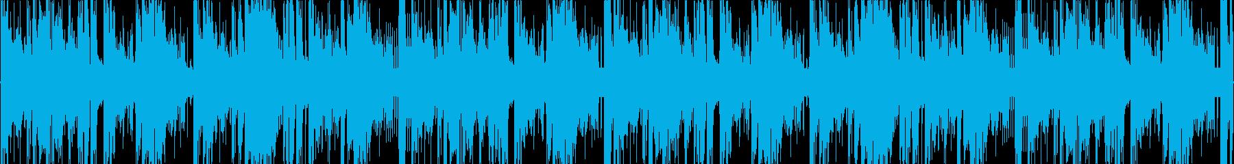 ダブステップヒーリングLOOPの再生済みの波形