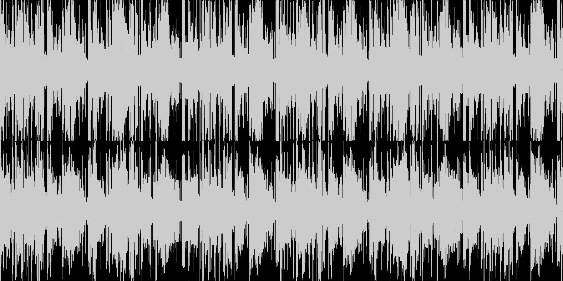 ダブステップヒーリングLOOPの未再生の波形