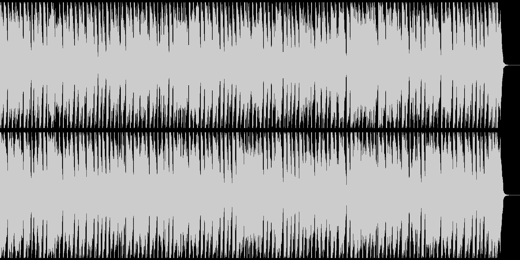表彰式の定番ヘンデル 元気なトロンボーンの未再生の波形