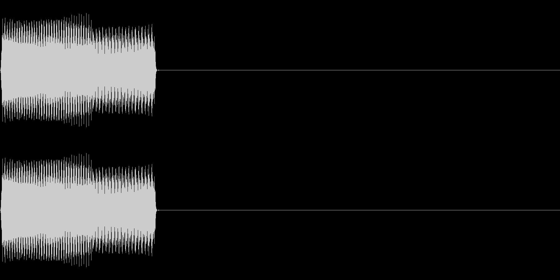 ボタンSE01-セレクト01(UP)の未再生の波形