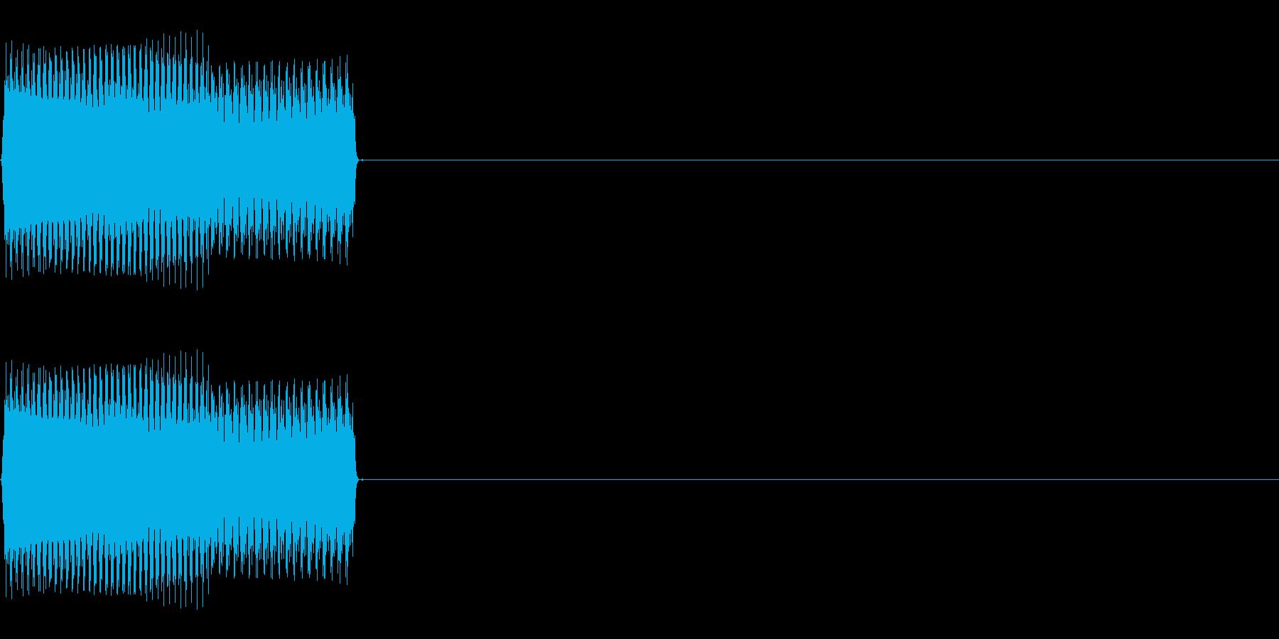 ボタンSE01-セレクト01(UP)の再生済みの波形