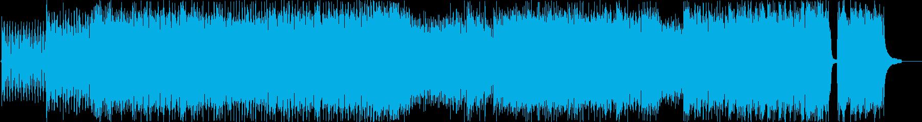ショートバージョンの再生済みの波形