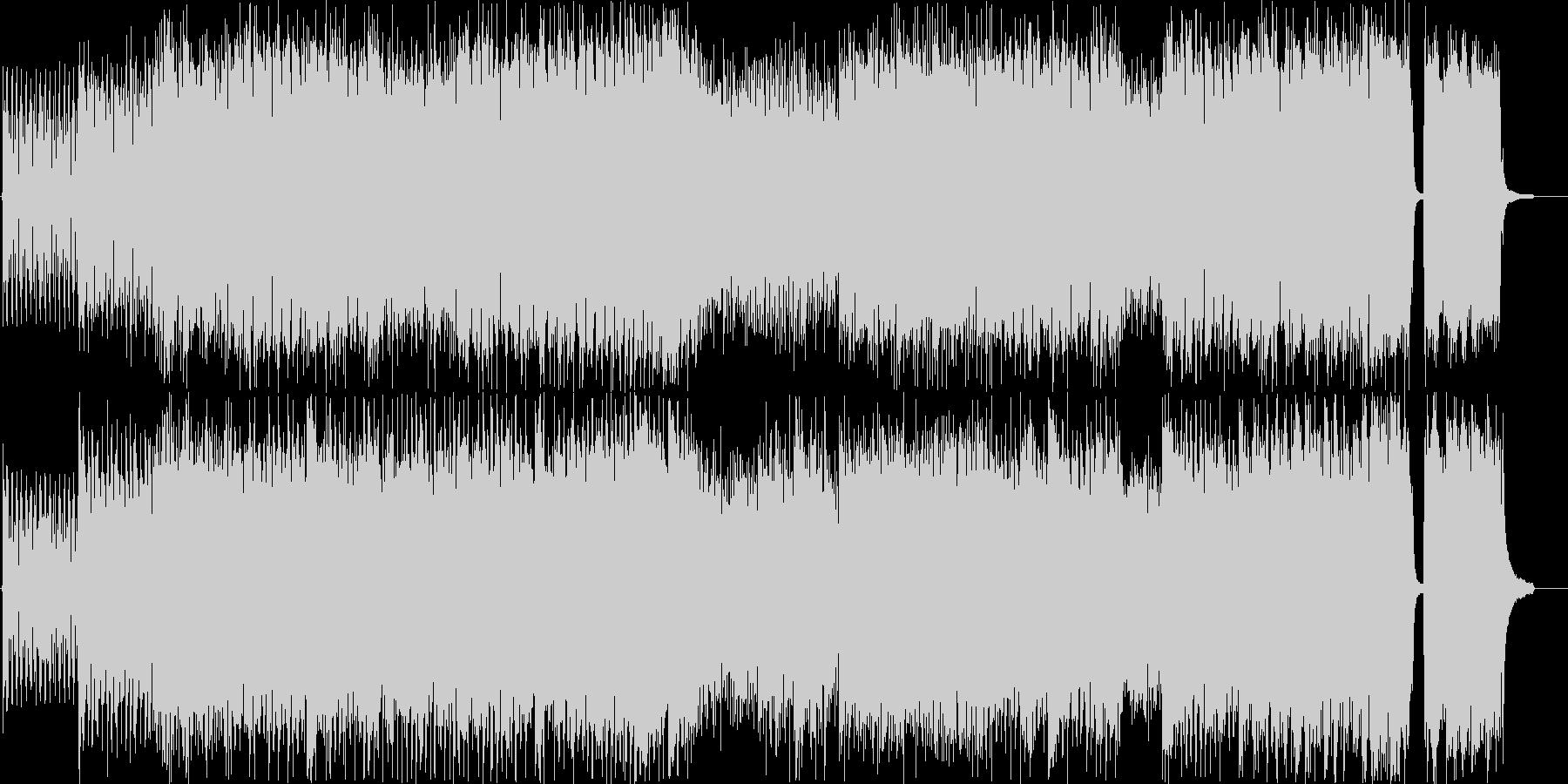 ショートバージョンの未再生の波形