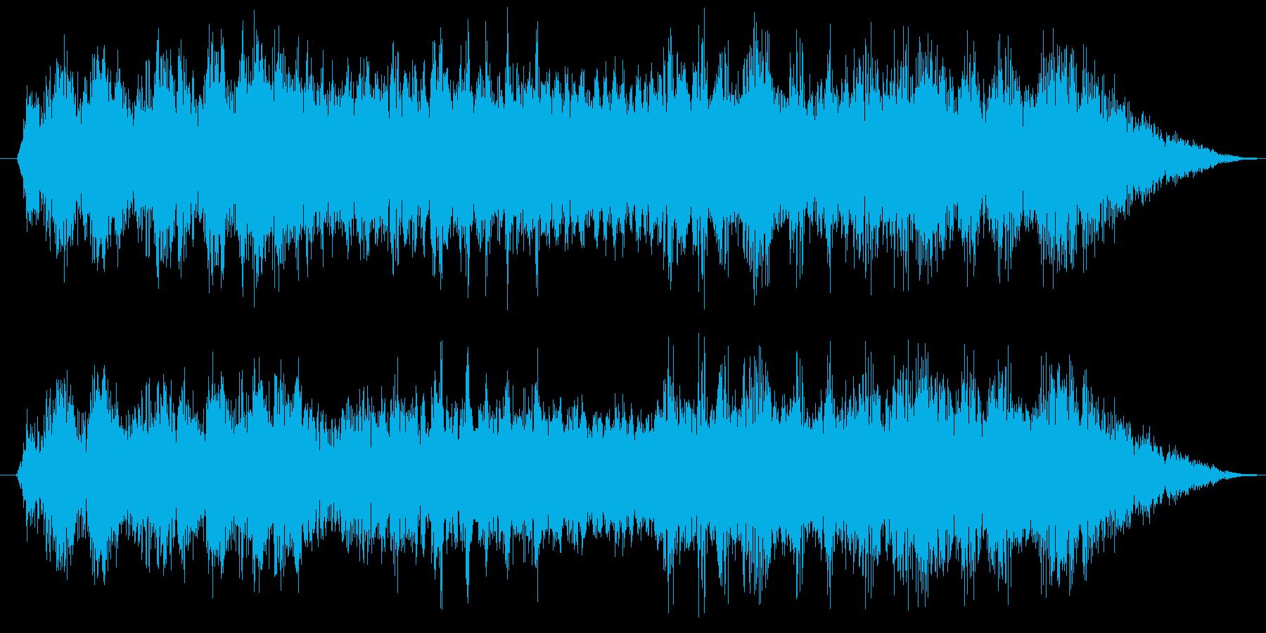 暴走族の走行およびコール タイプCの再生済みの波形
