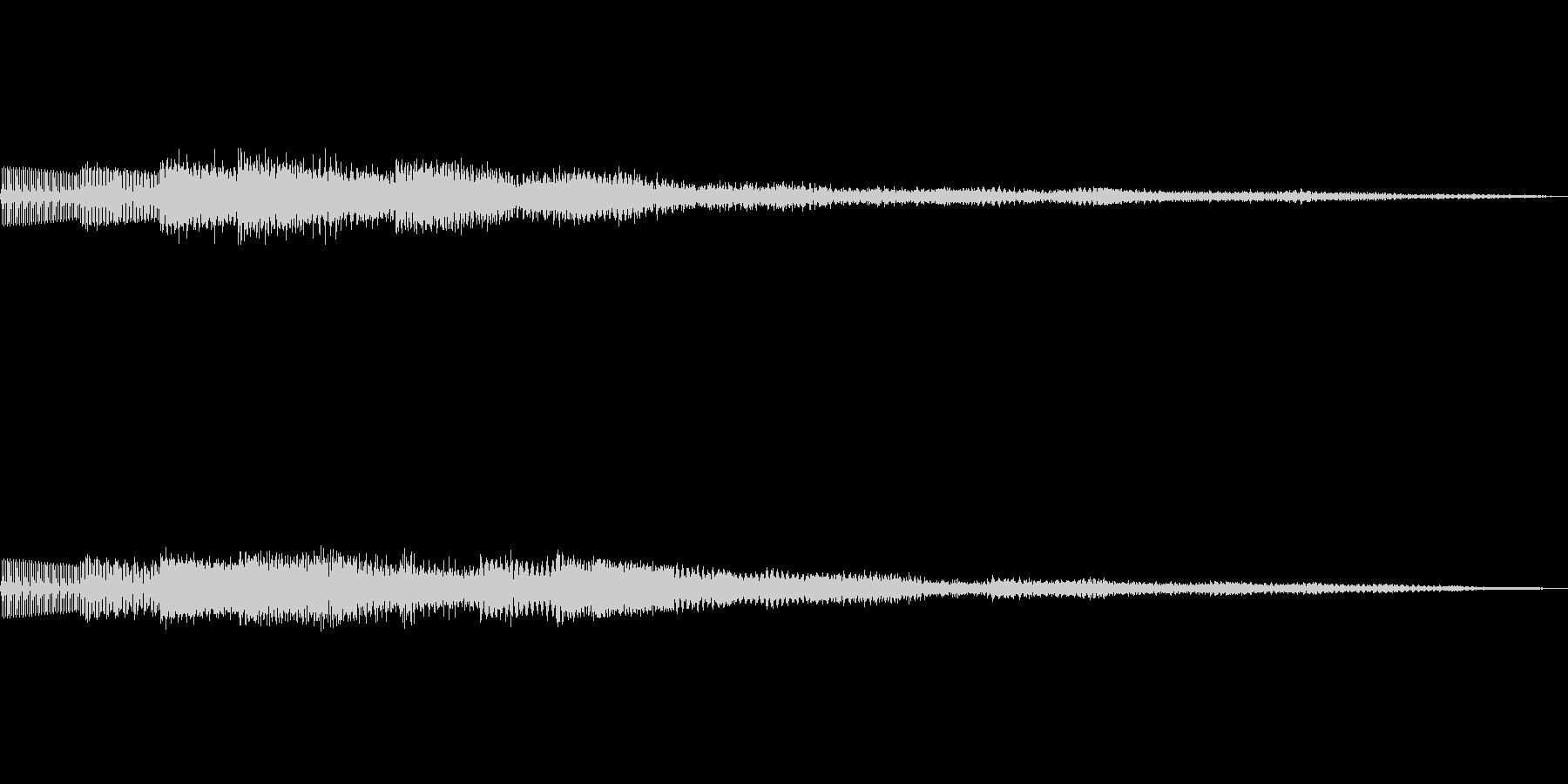 ピロリローン キラキラーン ボタン 02の未再生の波形