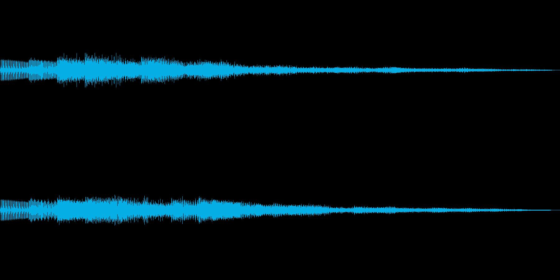 ピロリローン キラキラーン ボタン 02の再生済みの波形