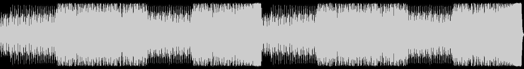 オーケストラによる戦闘用BGMの未再生の波形