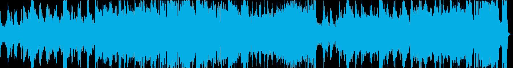 切迫した状況・疾走感・金管がブリブリの再生済みの波形