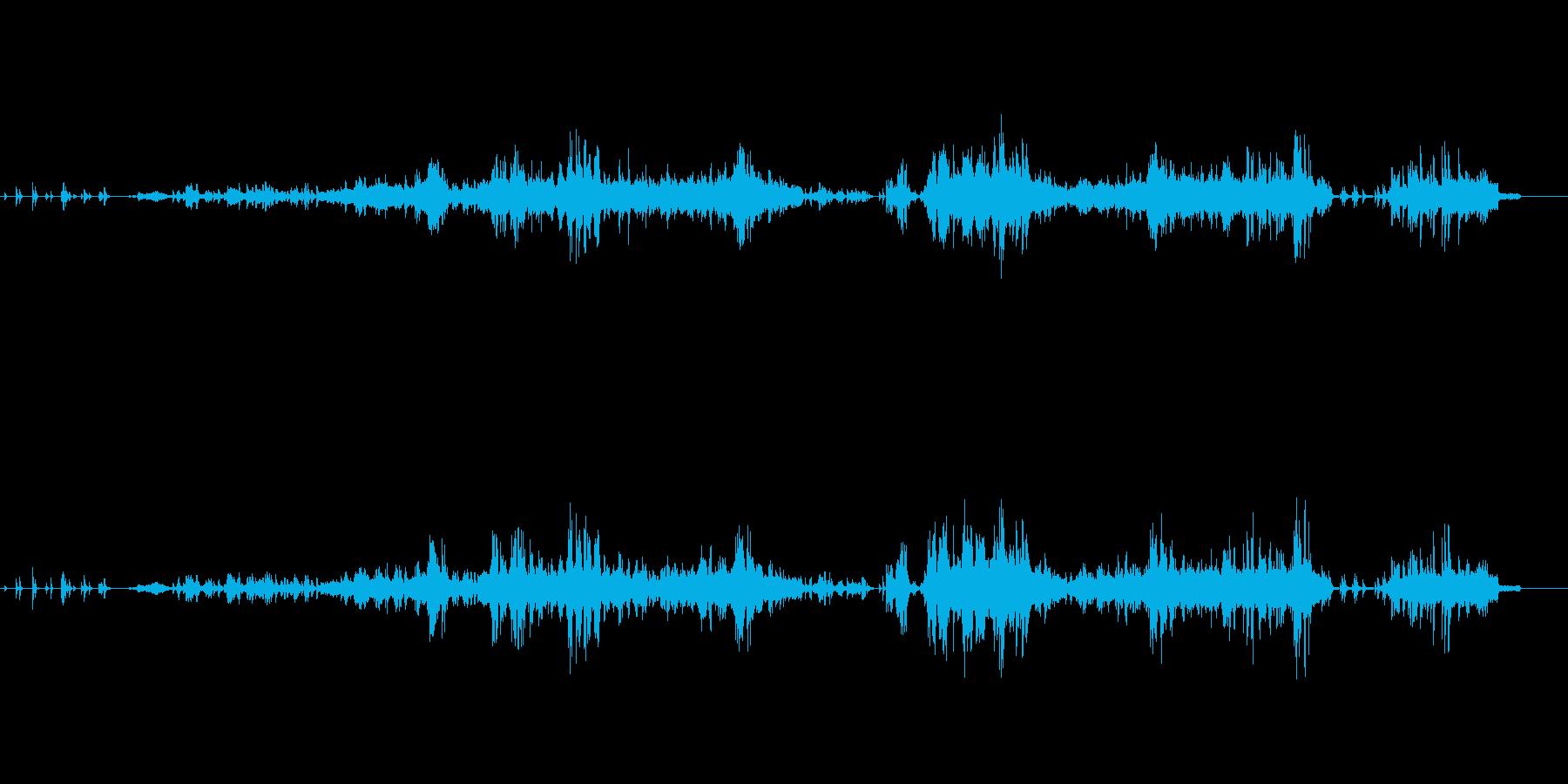 ピアノ曲です。6分程の長い曲ですが…ス…の再生済みの波形