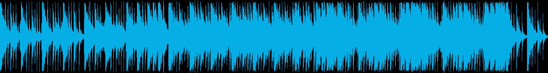 和楽器のみの雅で落ち着いた和風曲の再生済みの波形