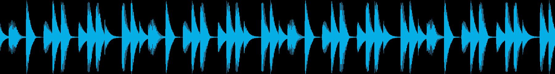 Techno ベース 3 音楽制作用の再生済みの波形