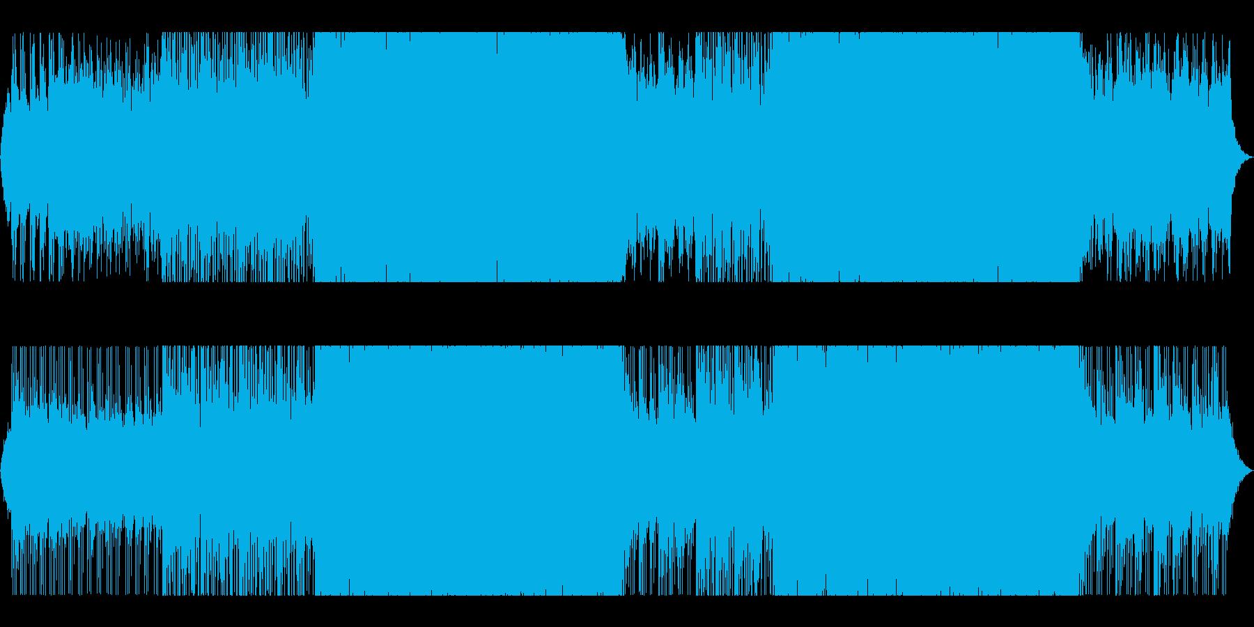 おしゃれ爽やかパワフルなデジタルポップ!の再生済みの波形