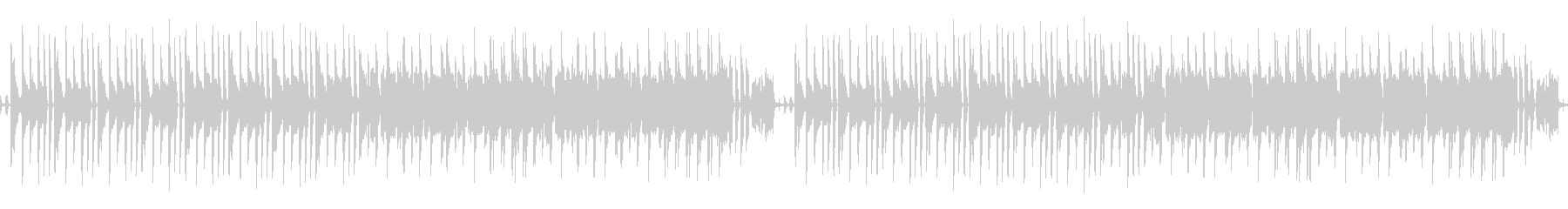 8bit・チップチューン風おバカメロディの未再生の波形