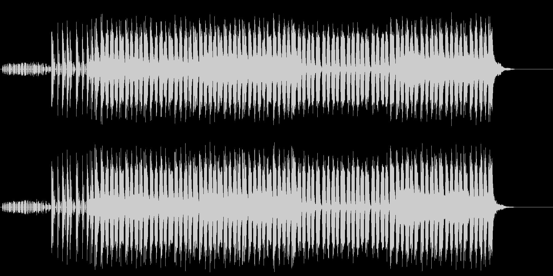 あやしい 謎 不安 緊張 サスペンスの未再生の波形