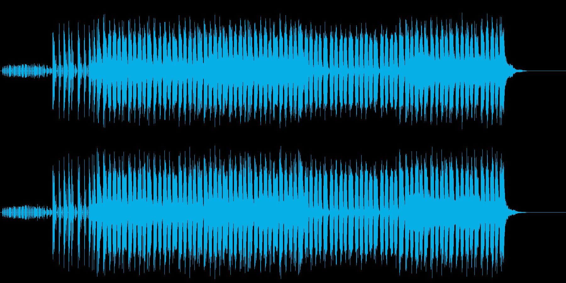 あやしい 謎 不安 緊張 サスペンスの再生済みの波形