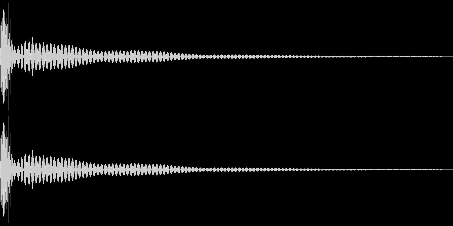 DTM Tom 2 オリジナル音源の未再生の波形