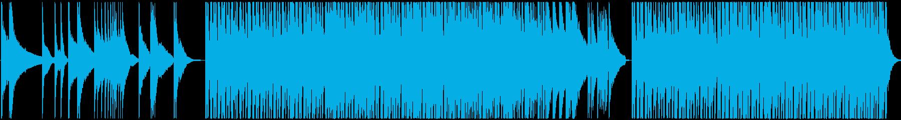 ピアノとピチカートのしっとりした曲ですの再生済みの波形