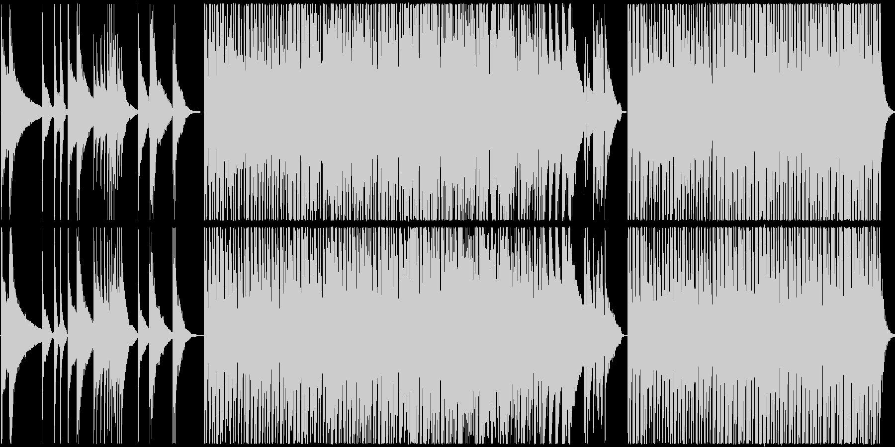 ピアノとピチカートのしっとりした曲ですの未再生の波形