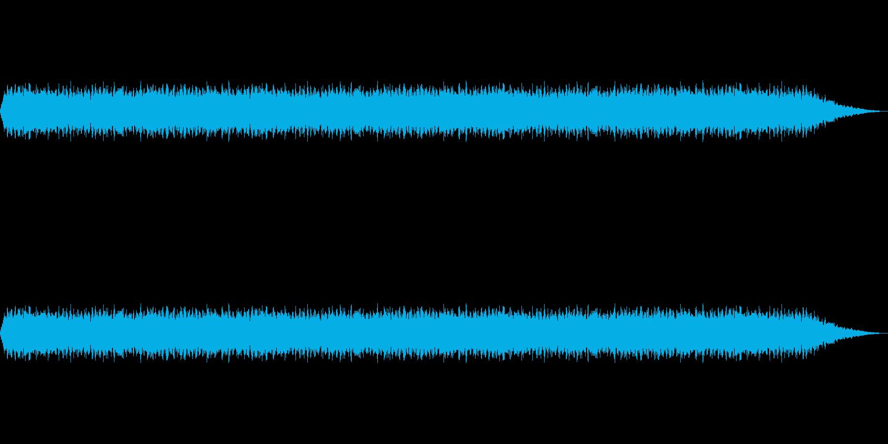 【扇風機 動作音01-1】の再生済みの波形