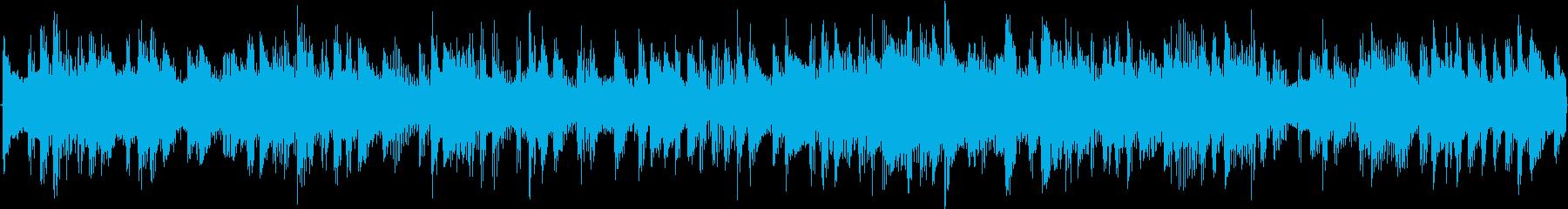 テクノを強く意識した楽曲です。繰り返し…の再生済みの波形