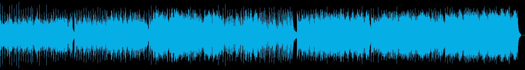 幻想的なピアノBGM(効果音なし)の再生済みの波形