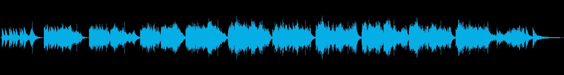 優雅な中国音楽の再生済みの波形