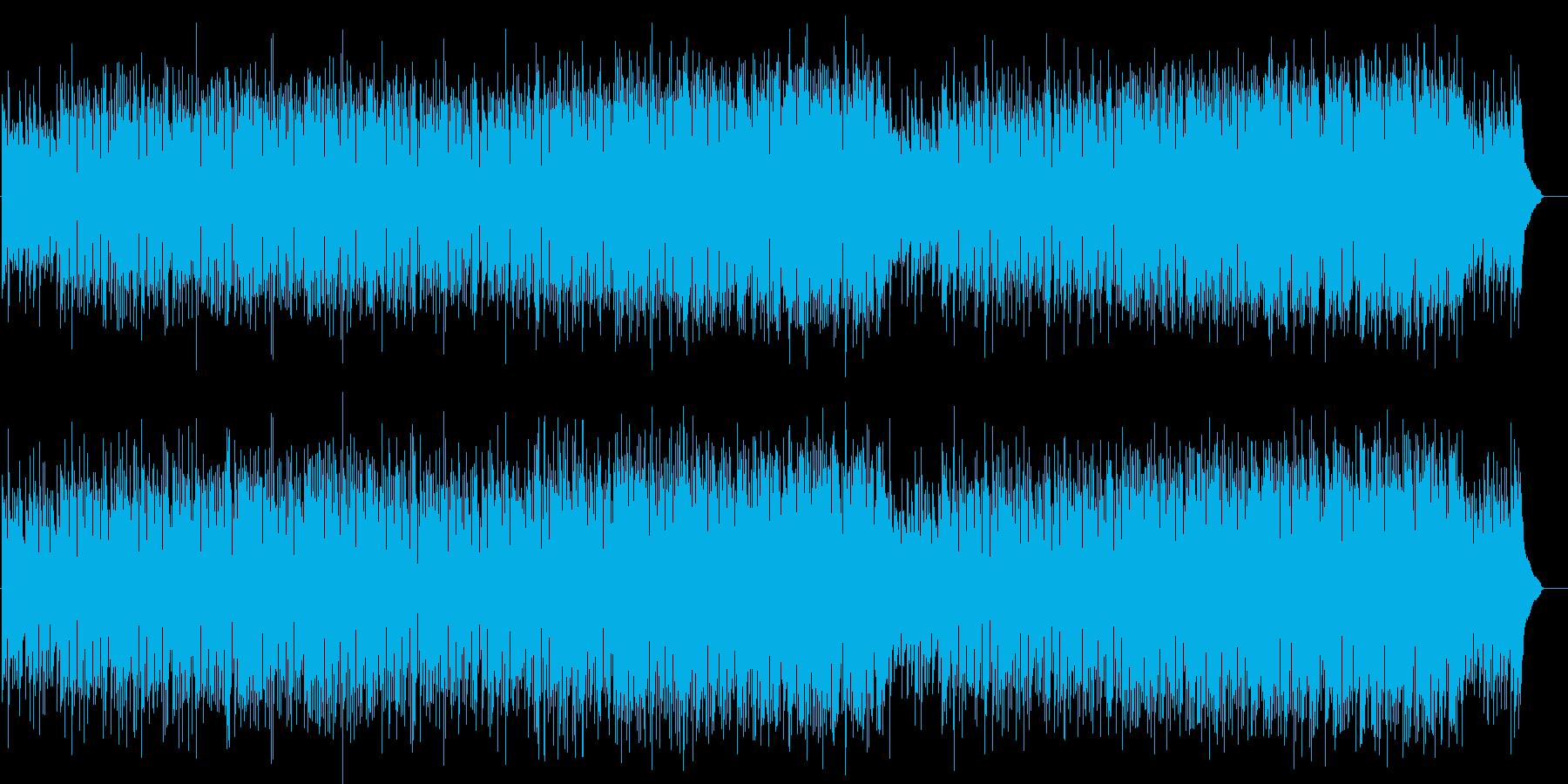 シンプルでまろやかなベルベットポップスの再生済みの波形